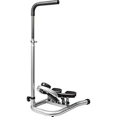Taiwan Present GUNBELL Fitness Step Machine Pro Leg Stretcher with Adjustable Handle Bar, Flexible Stretch Level & LCD Display from GUNBELL