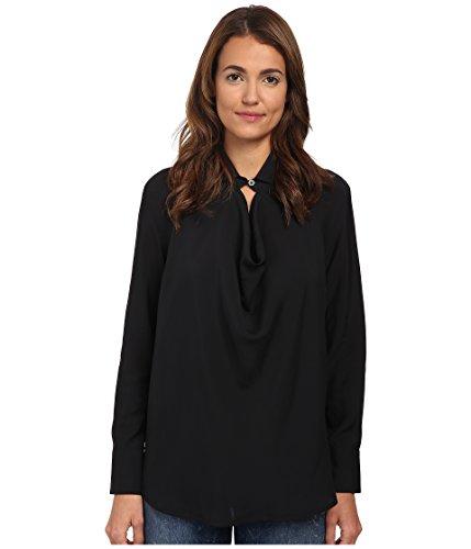 Vivienne Westwood Women's Drape Shirt, Black 42 (US 6)