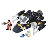Star Wars Galactic Heroes Poe's Boosted X-Wing Fighter (Renewed)