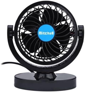 Mitchell Mini Ventilador de Refrigeración 360 Grados Ajustable por ...