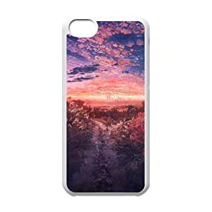 LIULAOSHI Beautiful Scenery Nature Landscape Phone Case for iphone5c White [Pattern-6] by Maris's Diary