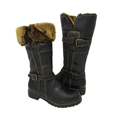 Black V Dark 1072 Shearling Italia Brown Women's Boots wCqt8B