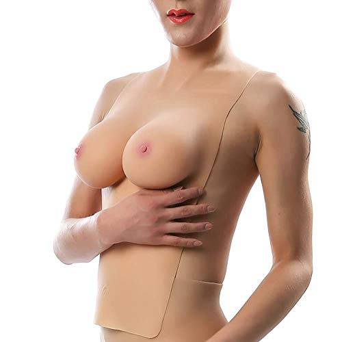 Noël Seins D Haut Silicone Faux En SiliconeHalloween Col Dress Solides Tasse Pseudonyme Sexy Robe Demi Long e Two Up Halter corps xeCrBoWd