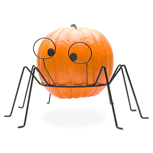 Tag Halloween Party Wrought Iron Pumpkin Stand, 10.625