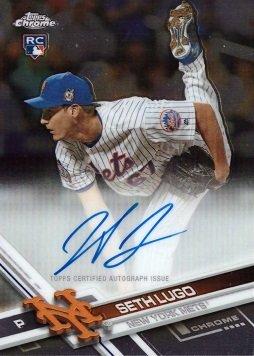 2017 Topps Chrome #RA-SL Seth Lugo Certified Autograph Baseball Rookie Card