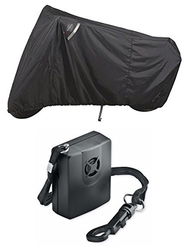 Guardian By Dowco - WeatherAll Plus Motorcycle Cover - Sportbike with Dowco's Integrated 130 Decibel Alarm System (Cover Motorcycle Dowco Guardian Alarm)