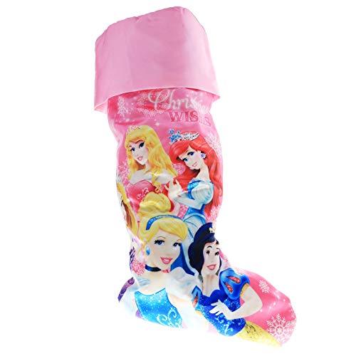 Disney Princess 20 Slinky Satin Printed Stocking
