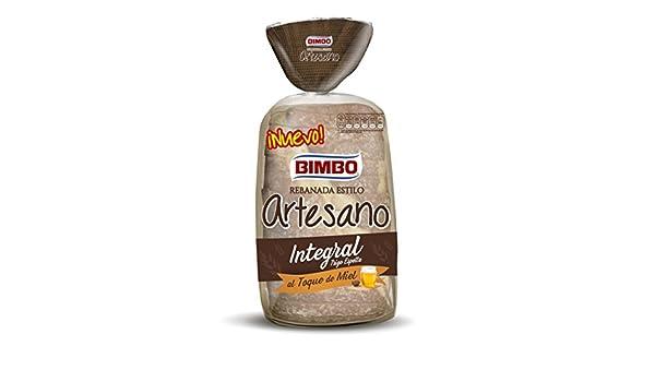 Bimbo, Pan con grano de trigo integral envasado (Rebanada) - 550 gr.: Amazon.es: Alimentación y bebidas