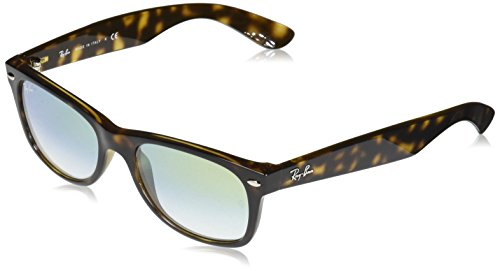 Ray-Ban Men's New Wayfarer Square Sunglasses, HAVANA, 51 mm ()