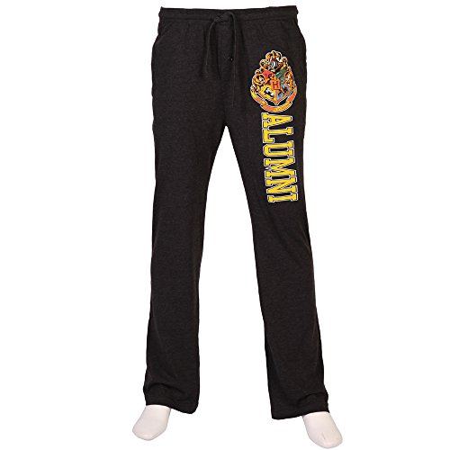 Harry Potter Hogwarts Alumni Adult Lounge Pants - Heather Charcoal (Ravenclaw Quidditch Robes)
