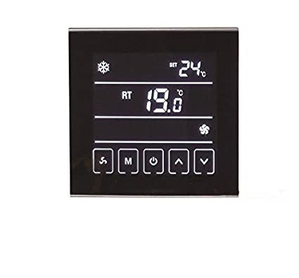 termostato ambiental Enlucido inferior para Calefacción Aire acondicionado Calefactor T901