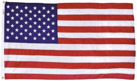 Amazon Com Valley Forge American Flag 36 In H X 60 In W Home Kitchen