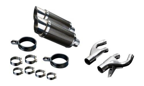 Honda Vmax 8  Mini Carbon Round Muffler Exhaust 84 98 99 00 01 02 03 04 05 06 07