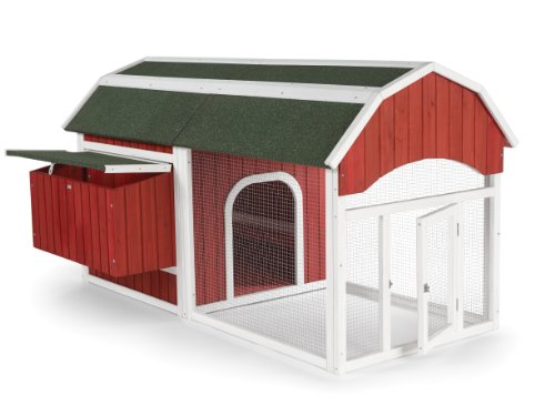 Prevue 465 Red Barn Chicken Coop by Prevue Pet Products (Image #1)