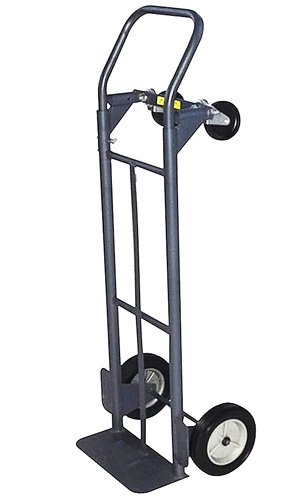 Milwaukee Hand Trucks 32152 Convertible Truck with 8-Inch Puncture Proof Tires