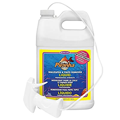 Piranha 206007 1 gal Liquid Spray Wallpaper Remover