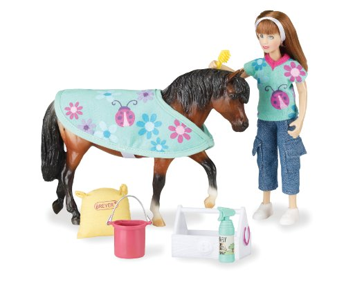 Breyer Classics Pony Care Doll and Pony Activity Set