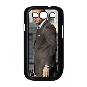 James Bond funda Samsung Galaxy S3 9300 caja funda del teléfono celular del teléfono celular negro cubierta de la caja funda EEECBCAAL00630