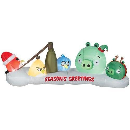 (Gemmy Airblown Angry Birds Characters Inflatable Outdoor Indoor Decoration, 3.5 Feet)