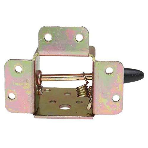 Andifany 4 Pcs//Juego Bloqueo de Hierro Plegable Silla de Mesa Patas de Soporte Bisagras para Casa Pata de Mueble Plegable Herramienta de Hardware de Soporte de Bisagra