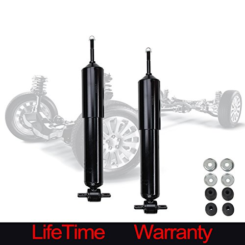 Alxiang 2pcs Front Right+Left Side Gas Strut Shock For Ford Ranger 2WD & Mazda B2300/B2500/B3000/B4000 Truck (B2300 2wd Mazda)
