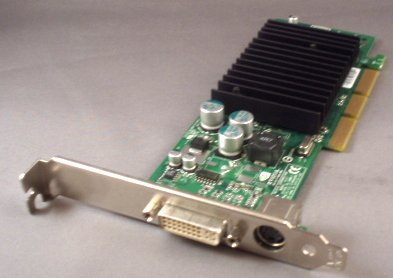 64MB Dell nVIDIA GeForce4 MX440 AGP 8x DDR DVI TV-out G0169.