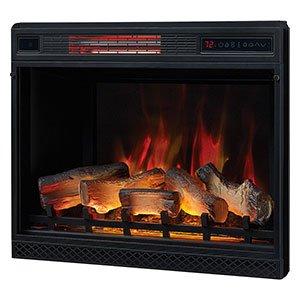 "Classic Flame 23II042FGL 23"" 3D Infrared Quartz Fireplace"