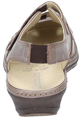 Comfortabel Comfortabel Damen Sling - Zapatos de vestir de Piel para mujer Marrón marrón Marrón - marrón