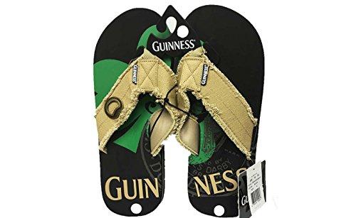 GUINNESS Sandals FLIP FLOPS Thongs NEW w/ BOTTLE OPENER (New Slipper Sandal Flip Flop)