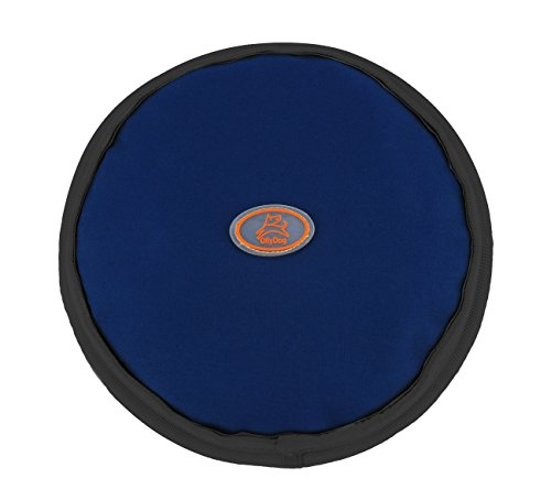 OllyDog OllyFlyer Flying Disc, Large, Navy by OllyDog