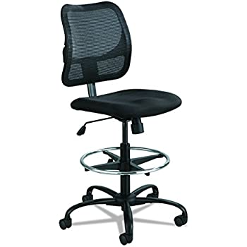 Amazon Com Office Star Deluxe Mesh Back Drafting Chair