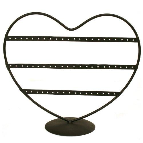 Decorative Heart Jewelry Stand Holder Organizer