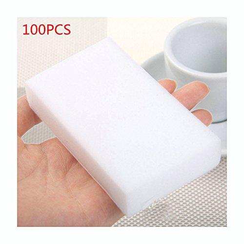 100pcs/lot melamina Esponja mágica esponja Dish Limpiador para cocina oficina baño limpieza de 10x 6x 2cm