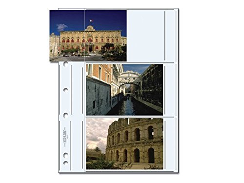 Print File Premium Archival Album Page for Six 4x6
