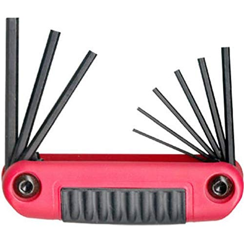 GourmetGalley 25912 9-in-1 Small Fold Up Hex Key Set from GourmetGalley