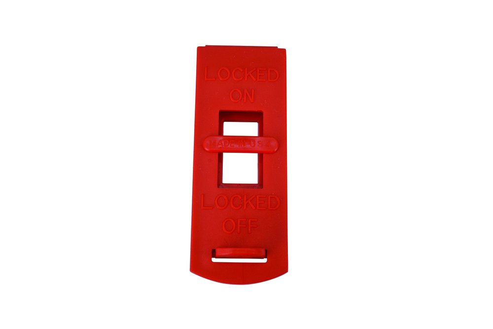 Oberon SWITCHLO-3PK LOTO Wall Switch, Red (Pack of 3)