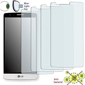4x DISAGU ClearScreen–Protector de pantalla para LG D722antibacteriano, filtro de corte Bluelight–Protector de pantalla