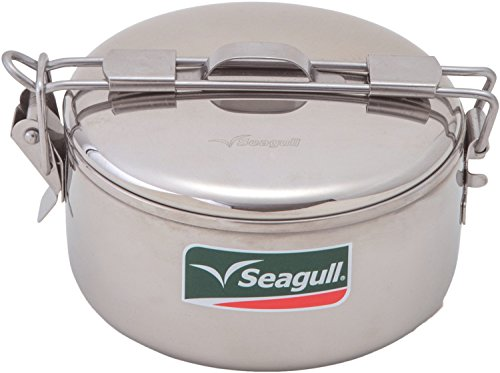 - Stainless Steel Stowaway Camping Pot 560ml