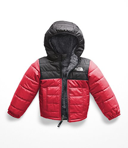 The North Face Kids Baby Boy's Reversible Mount Chimborazo Hoodie (Toddler) TNF Red/TNF Black 6T (Childrens North Face Coat)