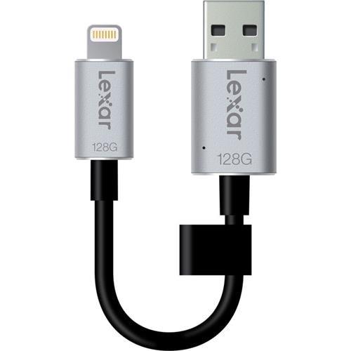 Lexar JumpDrive C20i 128GB USB 3.0 Flash Drive - LJDC20i-128BBNL by Lexar (Image #2)