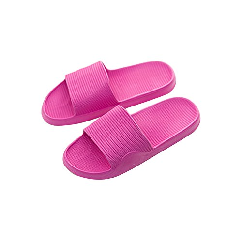 Mule Non Pool Slip Men's Rose Shoes Slippers Shoes Slip Sandals On Sole House Soft Shower Water Carmine Foams Women Bathroom xFznqOwO