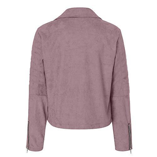 Air Casual Femme Outwear De Retro Jacket Plein Up Rose Zipper Parka Bomber Rivet Marine coloré Manteau Pour Xxl Taille Vêtements zfg5Wqxw8