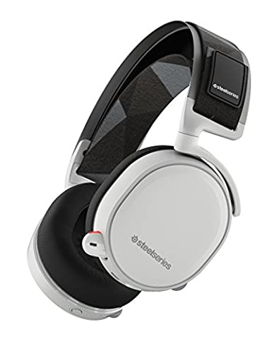 SteelSeries Arctis 7 Lag-Free Wireless Gaming Headset with DTS Headphone:X 7.1 Surround for PC, PlayStation 4, VR, Mac and Wired for Xbox One, Android and iOS - (7 Dots Studio)
