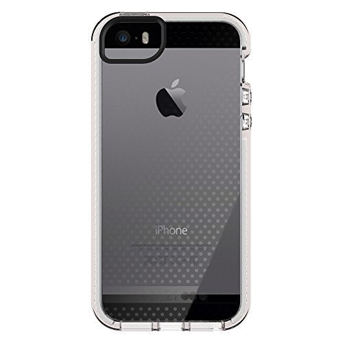 Tech21 Evo Mesh Case For Apple IPhone SE IPhone 5/5S (Clear White)