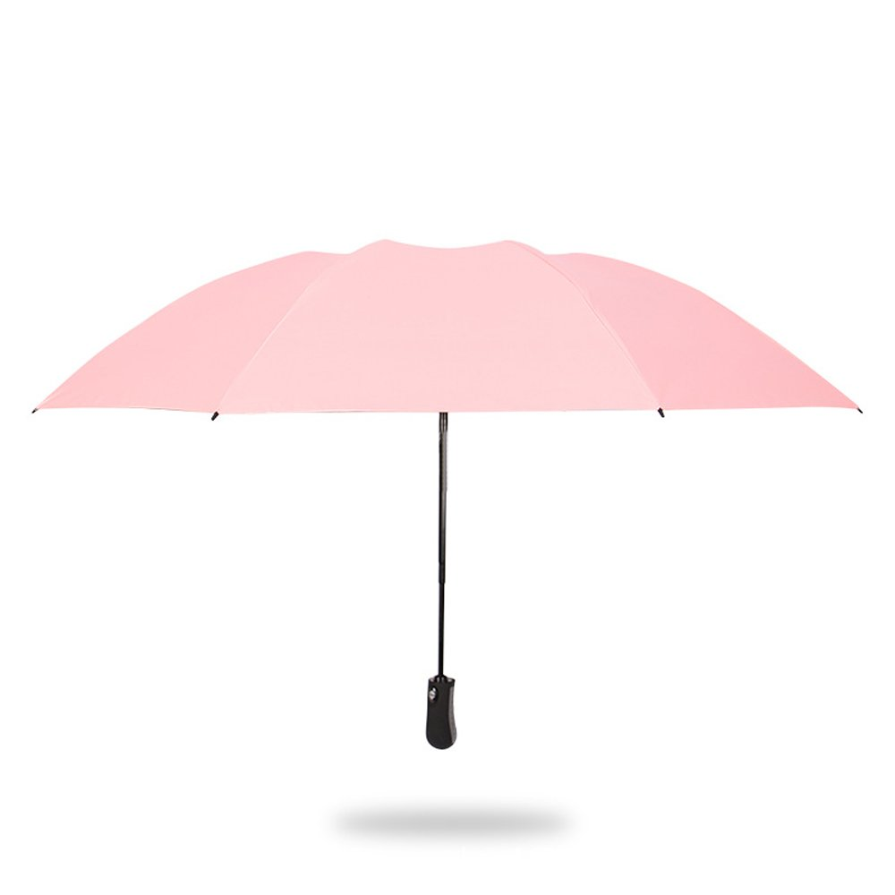 COLORGO Compact Travel Umbrella Auto Open and Close Folding Umbrella Windproof Black