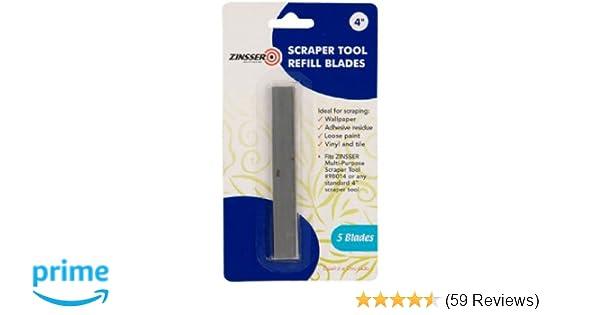 Zinsser 98014 4-Inch Long-Handle Scraper Tool