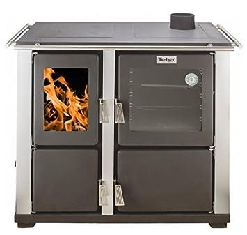 Eek A Wasserführender Automatik Küchenofen Holz U Kohleherd