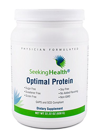 Optimal Protein Powder | From Non-GMO Pea and Rice Protein | Sugar-Free, Gluten-Free, Soy-Free | Vegan Protein Powder | 30 Servings