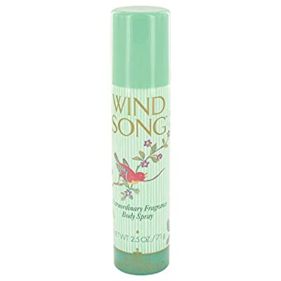 Prince Matchabelli Wind Song Deodorant Body Spray for Women, 2.5 Ounce