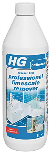 HG Professional Limescale Remover (Hagesan Blue) 1 Litre Pack of 3 -...